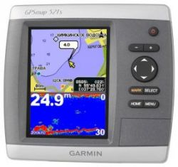 Картплоттер Garmin GPSMAP 521S DF (с датчиком эхолота)